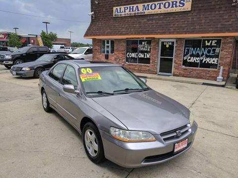 2000 Honda Accord For Sale In Kansas City, MO