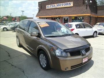 2004 Nissan Quest for sale at Alpha Motors in Kansas City MO