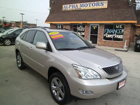 2008 Lexus RX 350 for sale at Alpha Motors in Kansas City MO