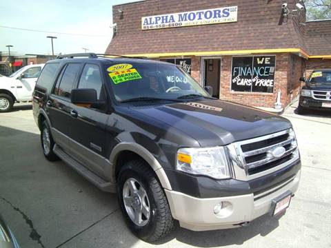 2007 Ford Expedition for sale at Alpha Motors in Kansas City MO