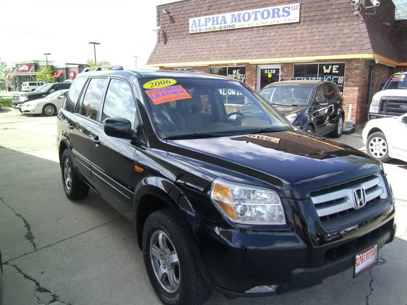 2006 Honda Pilot for sale at Alpha Motors in Kansas City MO