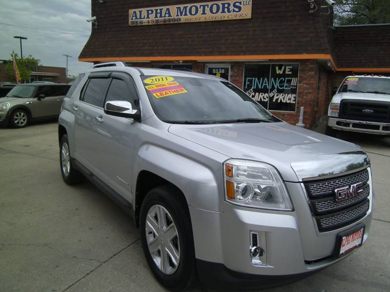 2011 GMC Terrain for sale at Alpha Motors in Kansas City MO