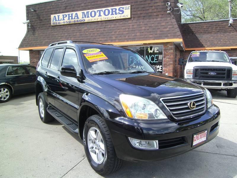 2007 Lexus GX 470 for sale at Alpha Motors in Kansas City MO