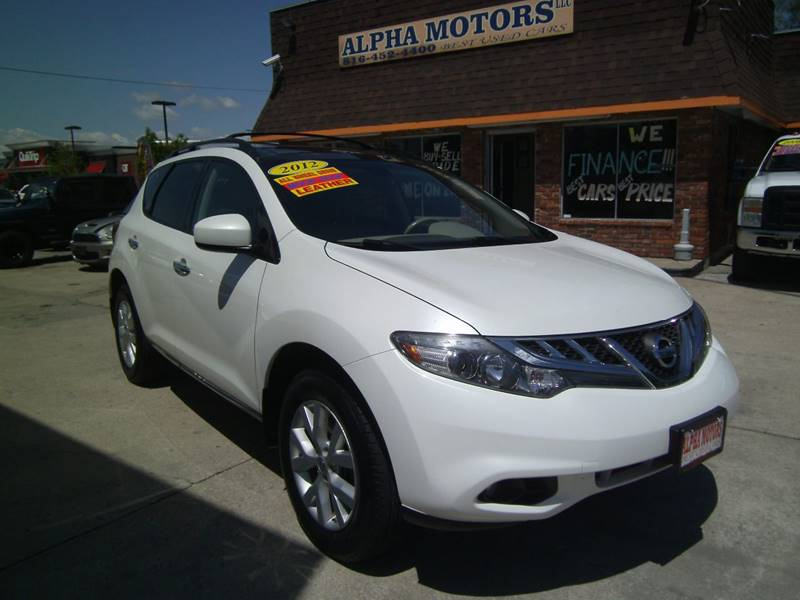 2012 Nissan Murano for sale at Alpha Motors in Kansas City MO