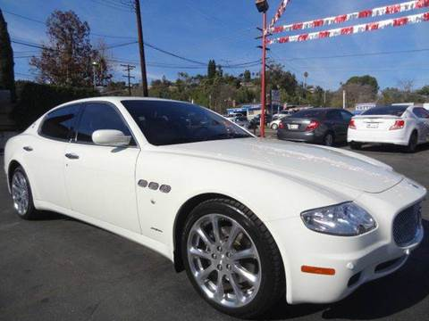 2007 Maserati Quattroporte for sale at Automaxx Of San Diego in Spring Valley CA