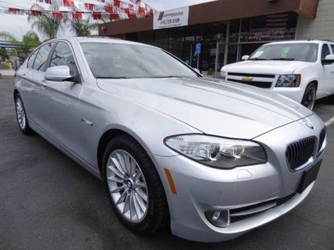 2012 BMW 5 Series for sale at Automaxx Of San Diego in Spring Valley CA