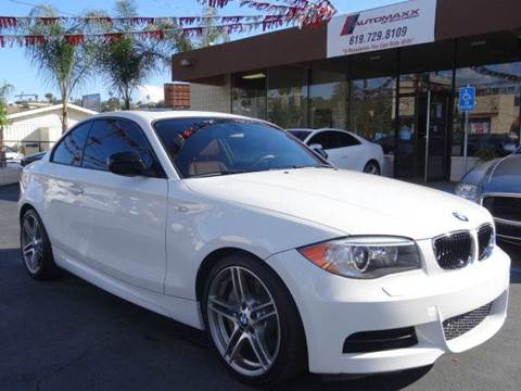 2013 BMW 1 Series for sale at Automaxx Of San Diego in Spring Valley CA