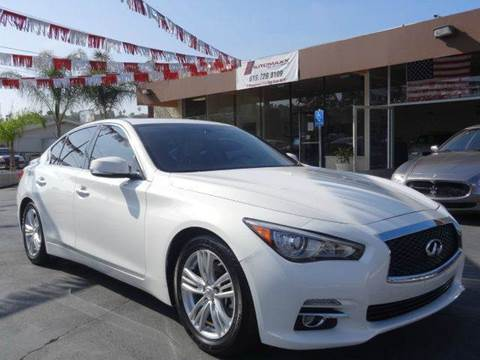2014 Infiniti Q50 Hybrid for sale at Automaxx Of San Diego in Spring Valley CA