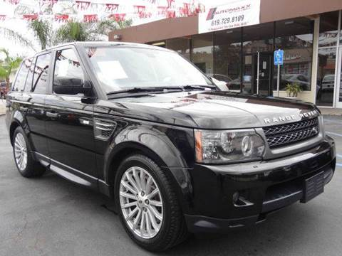 2011 Land Rover Range Rover Sport for sale at Automaxx Of San Diego in Spring Valley CA