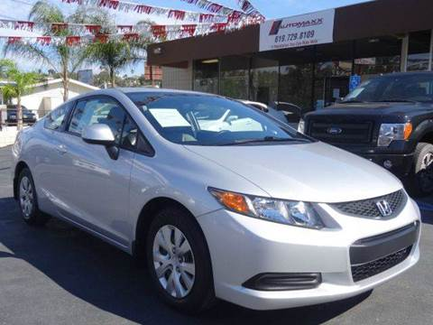 2012 Honda Civic for sale at Automaxx Of San Diego in Spring Valley CA