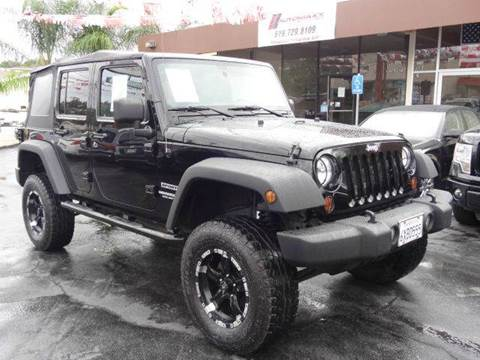 2012 Jeep Wrangler Unlimited for sale at Automaxx Of San Diego in Spring Valley CA
