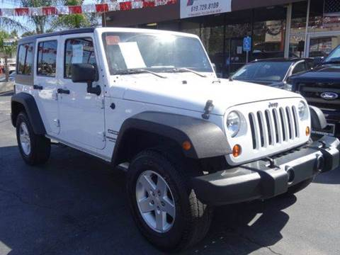 2013 Jeep Wrangler Unlimited for sale at Automaxx Of San Diego in Spring Valley CA