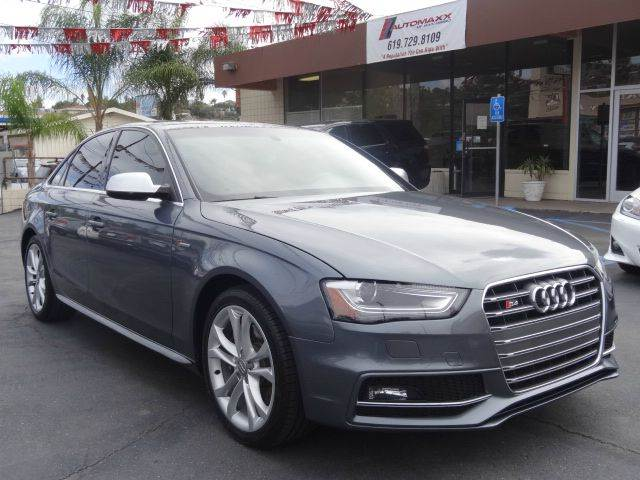 2013 audi s4 awd 3 0t quattro premium plus 4dr sedan 7a in spring valley ca automaxx of san diego. Black Bedroom Furniture Sets. Home Design Ideas