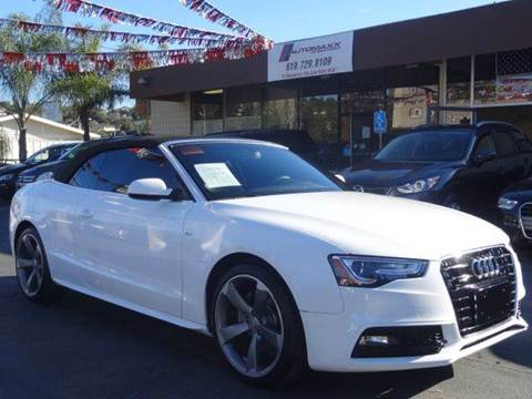 2015 Audi A5 for sale at Automaxx Of San Diego in Spring Valley CA