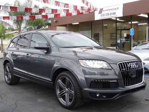 2014 Audi Q7 for sale at Automaxx Of San Diego in Spring Valley CA