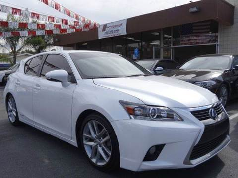 2015 Lexus CT 200h for sale at Automaxx Of San Diego in Spring Valley CA