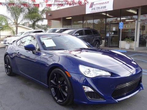 2016 Scion FR-S for sale at Automaxx Of San Diego in Spring Valley CA