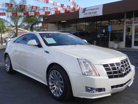 2012 Cadillac CTS for sale at Automaxx Of San Diego in Spring Valley CA