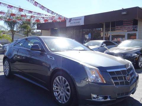 2013 Cadillac CTS for sale at Automaxx Of San Diego in Spring Valley CA