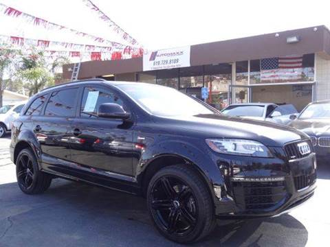 2015 Audi Q7 for sale at Automaxx Of San Diego in Spring Valley CA
