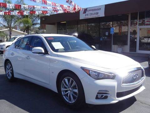 2015 Infiniti Q50 for sale at Automaxx Of San Diego in Spring Valley CA