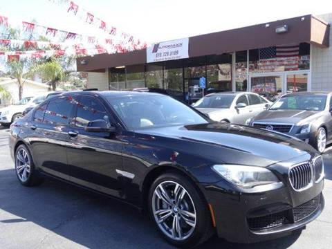 2013 BMW 7 Series for sale at Automaxx Of San Diego in Spring Valley CA