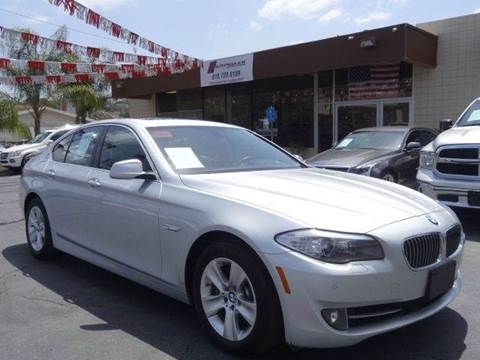 2013 BMW 5 Series for sale at Automaxx Of San Diego in Spring Valley CA
