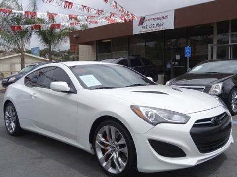 2013 Hyundai Genesis Coupe for sale at Automaxx Of San Diego in Spring Valley CA