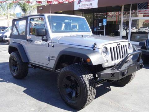 2015 Jeep Wrangler for sale at Automaxx Of San Diego in Spring Valley CA