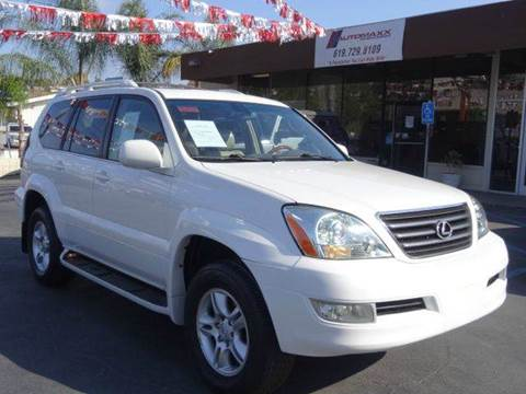 2004 Lexus GX 470 for sale at Automaxx Of San Diego in Spring Valley CA