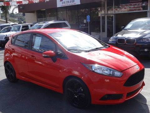 2015 Ford Fiesta for sale at Automaxx Of San Diego in Spring Valley CA