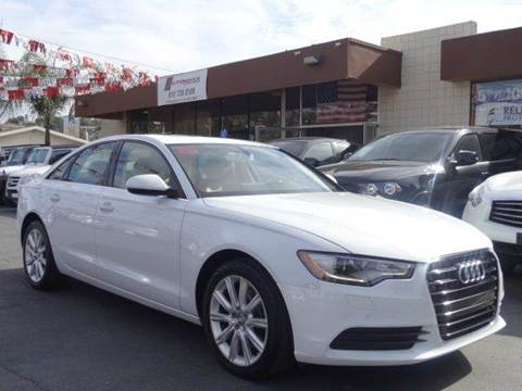2013 Audi A6 for sale at Automaxx Of San Diego in Spring Valley CA