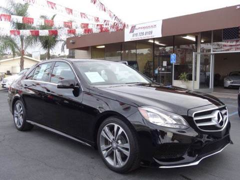 2014 Mercedes-Benz E-Class for sale at Automaxx Of San Diego in Spring Valley CA