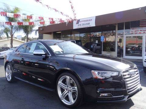 2013 Audi S5 for sale at Automaxx Of San Diego in Spring Valley CA