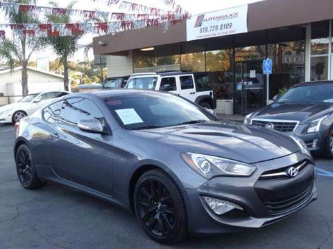 2015 Hyundai Genesis Coupe for sale at Automaxx Of San Diego in Spring Valley CA