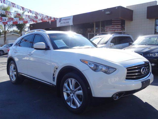 2012 Infiniti FX35 for sale at Automaxx Of San Diego in Spring Valley CA