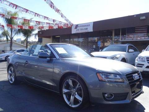 2012 Audi A5 for sale at Automaxx Of San Diego in Spring Valley CA
