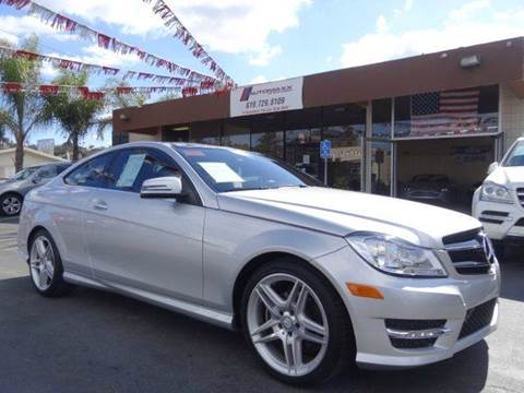 2015 Mercedes-Benz C-Class for sale at Automaxx Of San Diego in Spring Valley CA