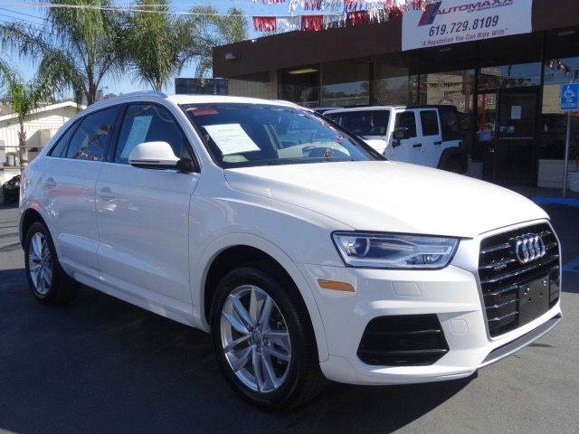 2016 Audi Q3 for sale at Automaxx Of San Diego in Spring Valley CA