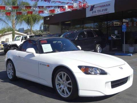 2005 Honda S2000 for sale at Automaxx Of San Diego in Spring Valley CA