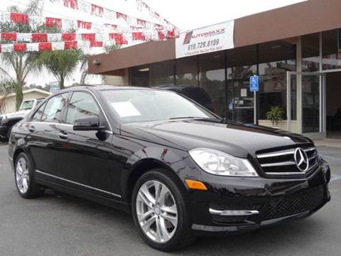 2014 Mercedes-Benz C-Class for sale at Automaxx Of San Diego in Spring Valley CA