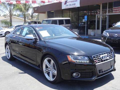 2011 Audi S5 for sale at Automaxx Of San Diego in Spring Valley CA