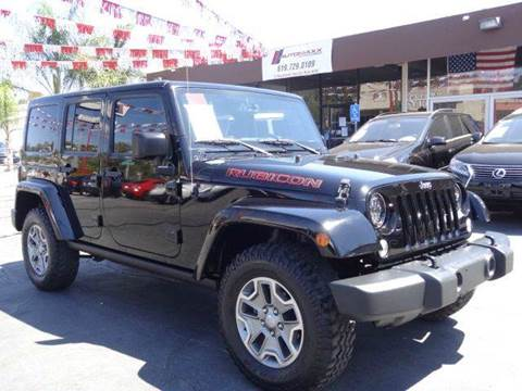 2015 Jeep Wrangler Unlimited for sale at Automaxx Of San Diego in Spring Valley CA