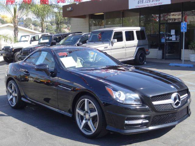 2015 Mercedes-Benz SLK for sale at Automaxx Of San Diego in Spring Valley CA