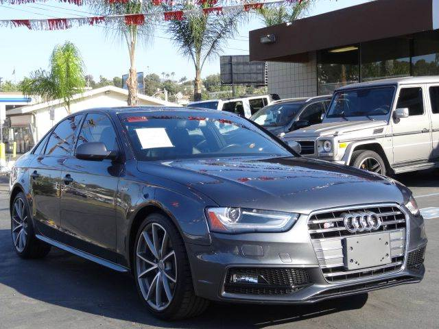 2016 Audi S4 for sale at Automaxx Of San Diego in Spring Valley CA