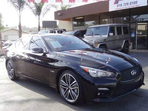 2015 Infiniti Q50 Hybrid for sale at Automaxx Of San Diego in Spring Valley CA