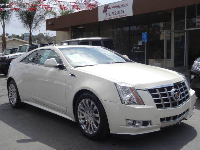 2014 Cadillac CTS for sale at Automaxx Of San Diego in Spring Valley CA