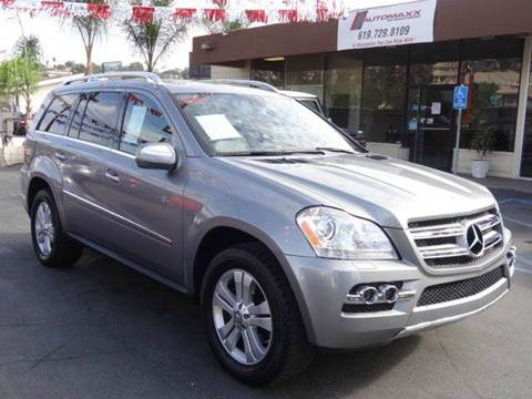 2010 Mercedes-Benz GL-Class for sale at Automaxx Of San Diego in Spring Valley CA