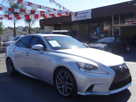 2014 Lexus IS 250 for sale at Automaxx Of San Diego in Spring Valley CA