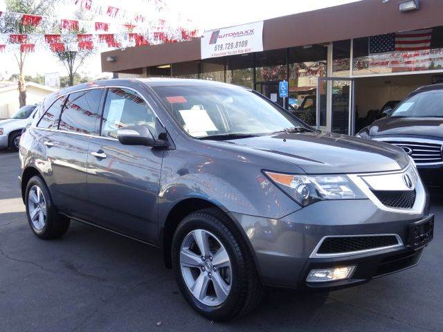 2011 Acura MDX for sale at Automaxx Of San Diego in Spring Valley CA